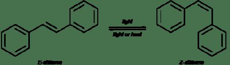 Stilbene - a simple molecular switch