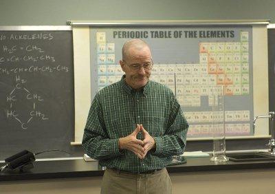 Walt in the teaching lab.