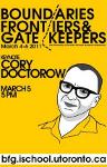 Cory Doctorow at the University of Toronto.
